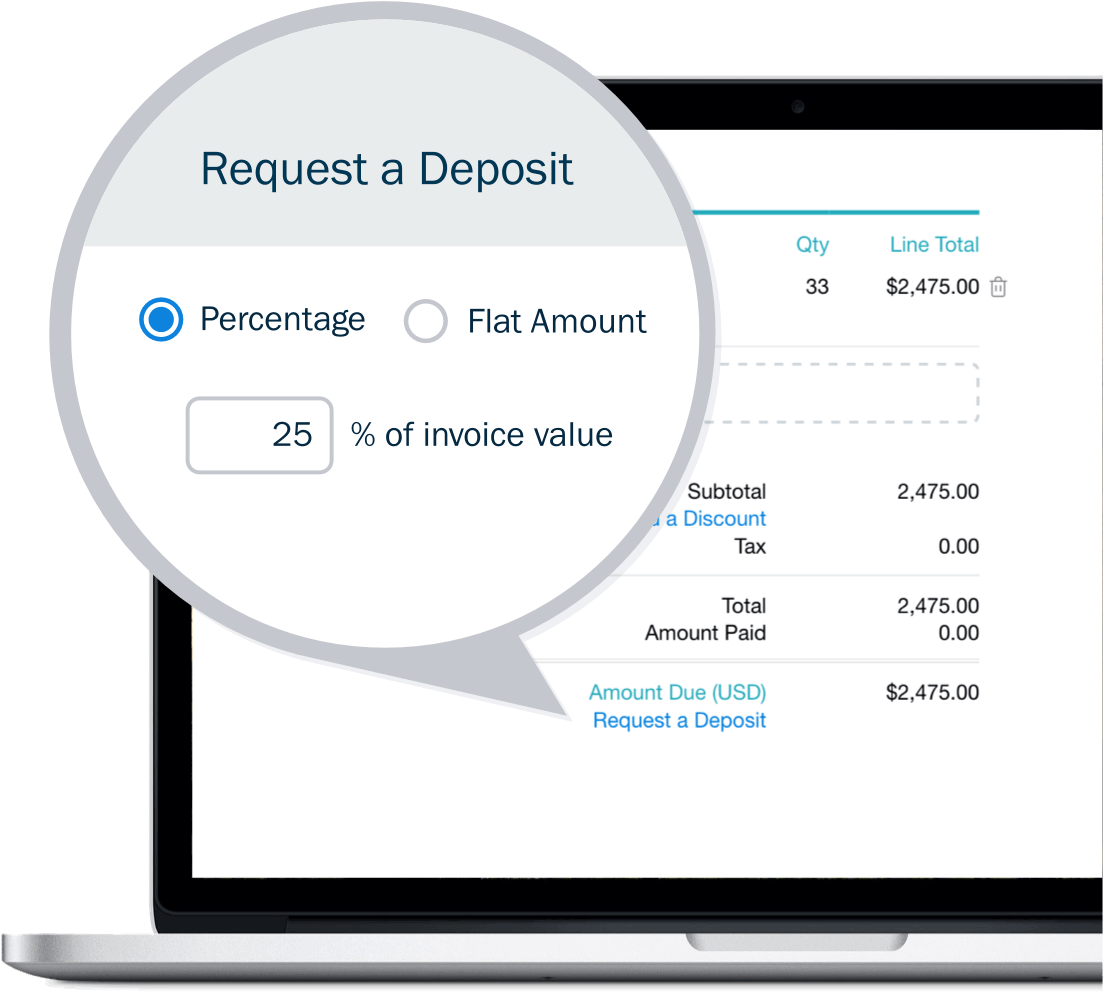 Get Paid Upfront with Deposits